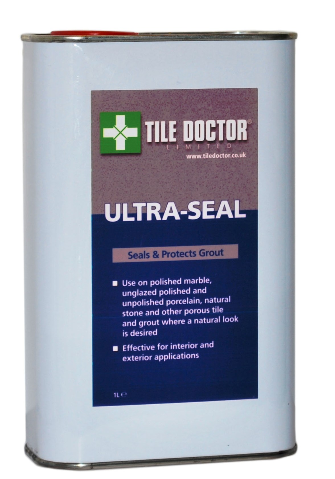 Tile Doctor Ultra-Seal Premium no-sheen, natural-look, solvent-based penetrating Stone Sealer