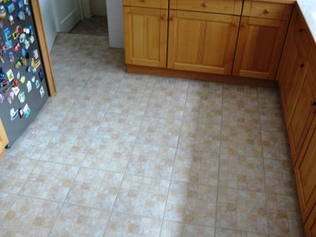 Ceramic Tiled Floor example